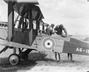 Plane De Havilland DH9